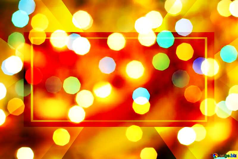Bright colors. Christmas background. Responsive Banner Design №24617