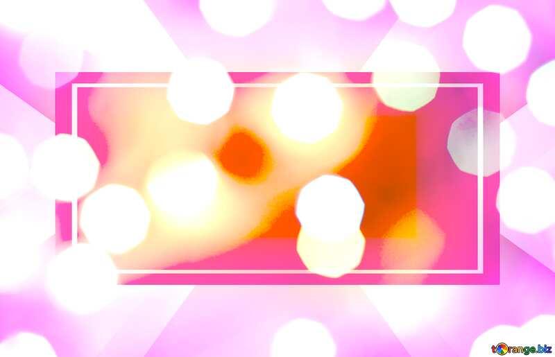 Lighten bokeh Christmas background Banner Template №24617