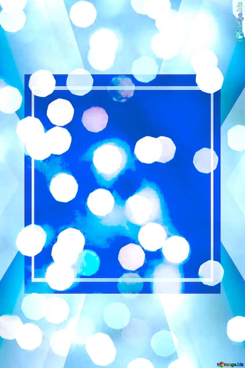 Christmas background Lighten Blue Banner Template №24617