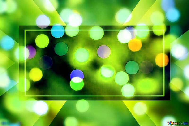 Christmas bokeh lights Website Business Christmas background №24617