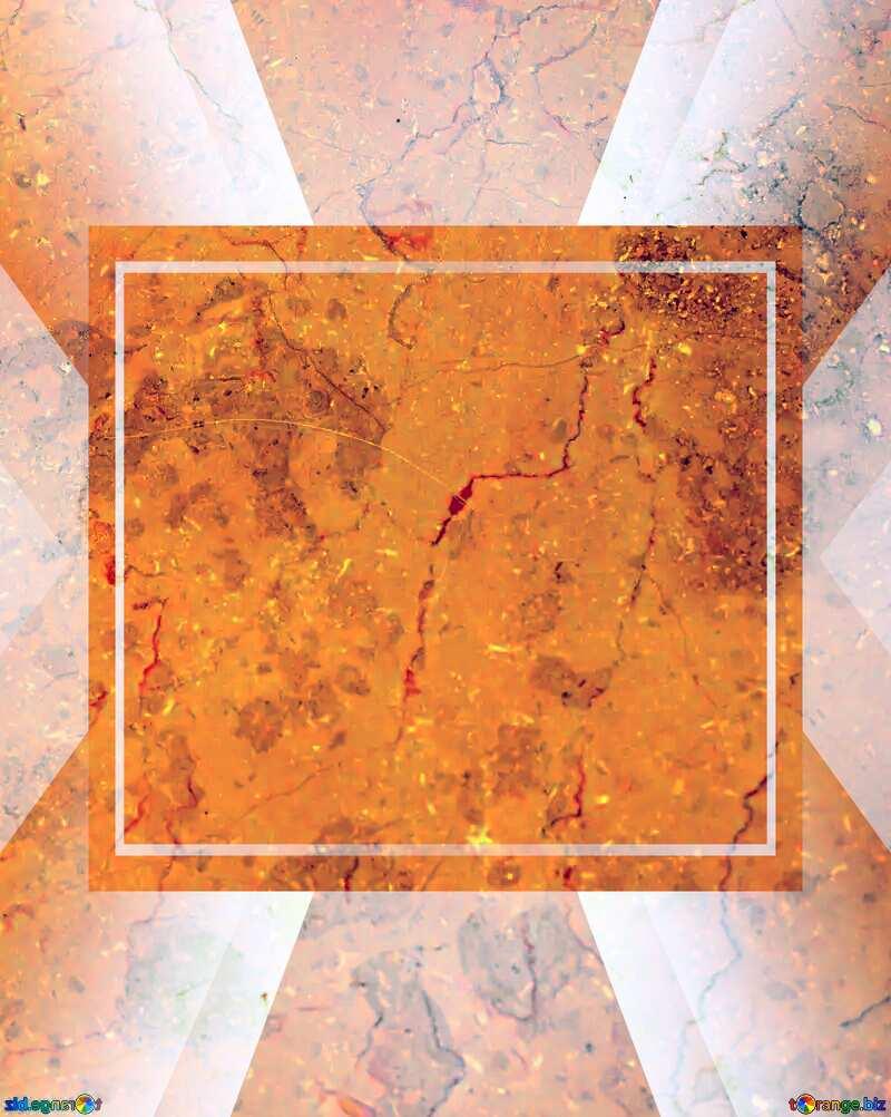 Orange color. Light marble texture. powerpoint website infographic template banner layout design responsive brochure business №26997
