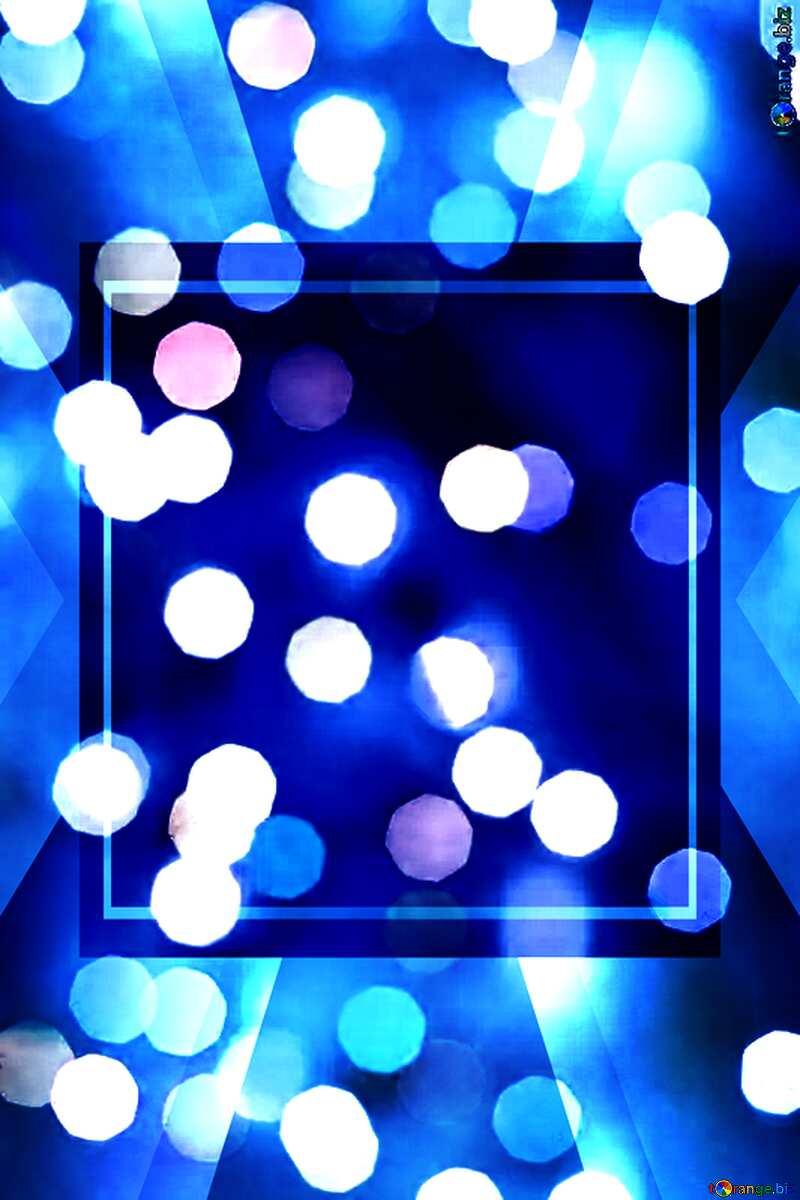 dark infographics blue circle frame Template Responsive Design Powerpoint №24617