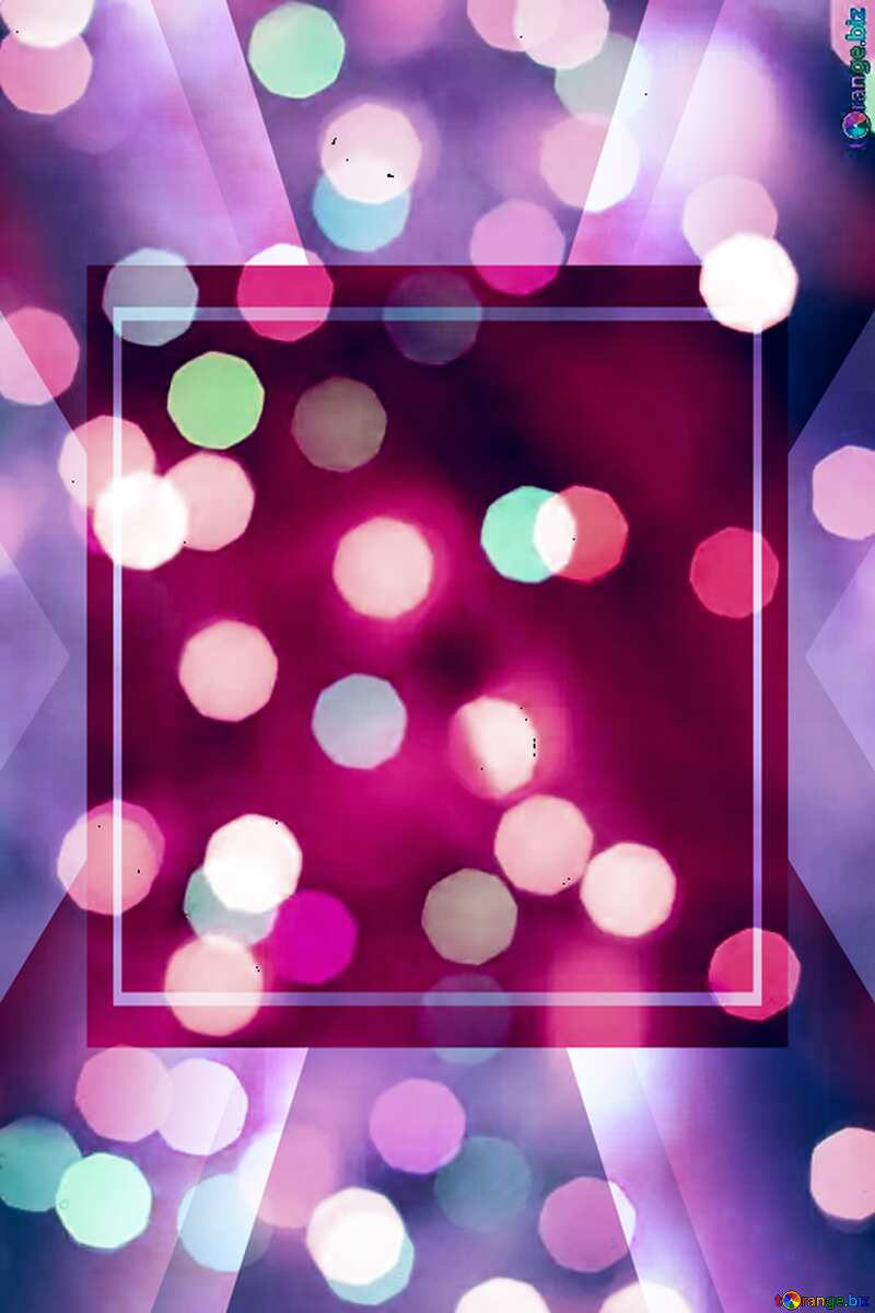 Pink Christmas background Template №24617