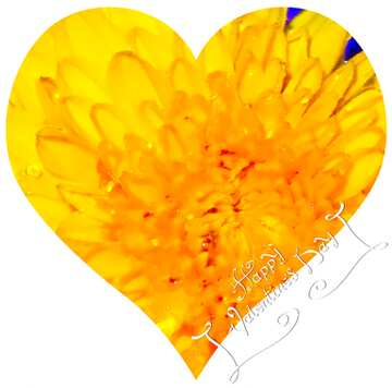 The effect of hard light. Very Vivid Colours. Fragment. Love illustration of a heart-shaped. Happy Valentine's Day.