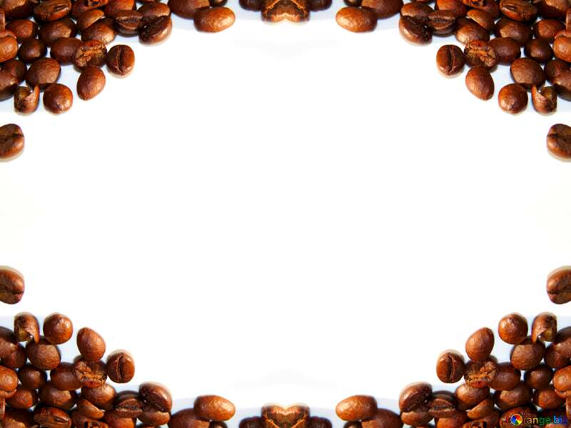Coffee bean frame №32288