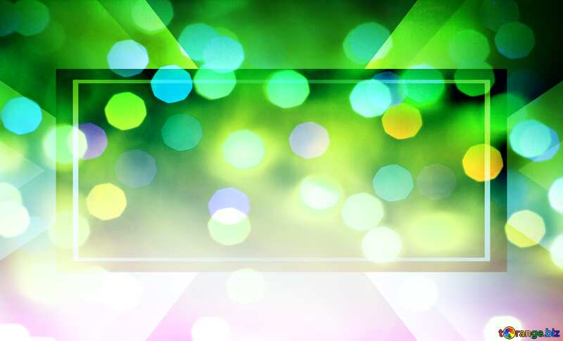 Bokeh Background Banner Business Design Gradient Template Layout №16062