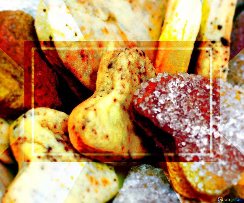 Cookies Design Template Heart №16650