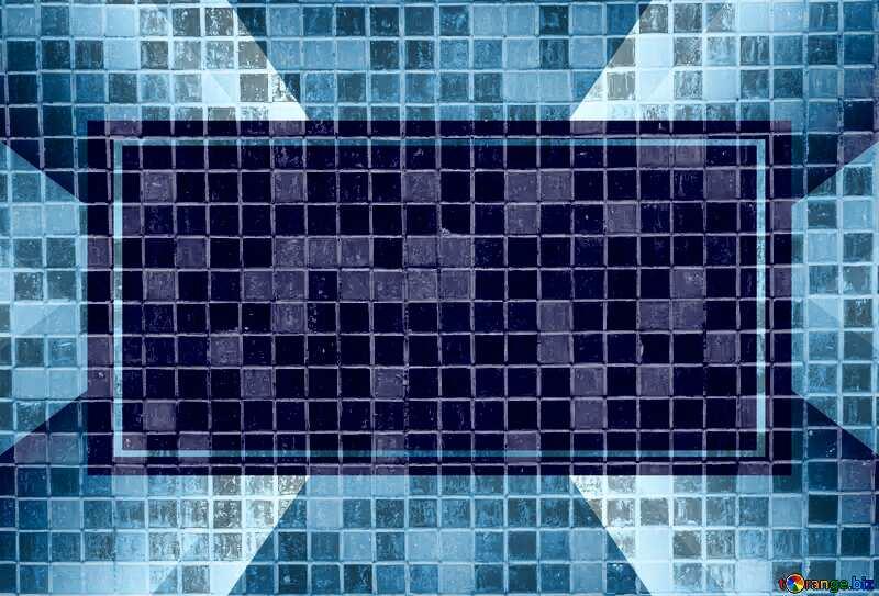 Banner Business Design Infographic Monochrome Mosaic Tiles №12763