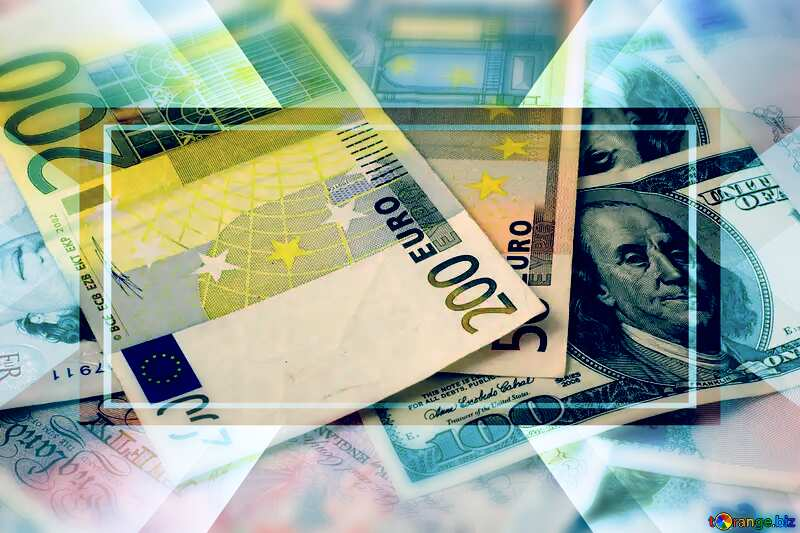Banknotes money Layout Banner Powerpoint Background №17138
