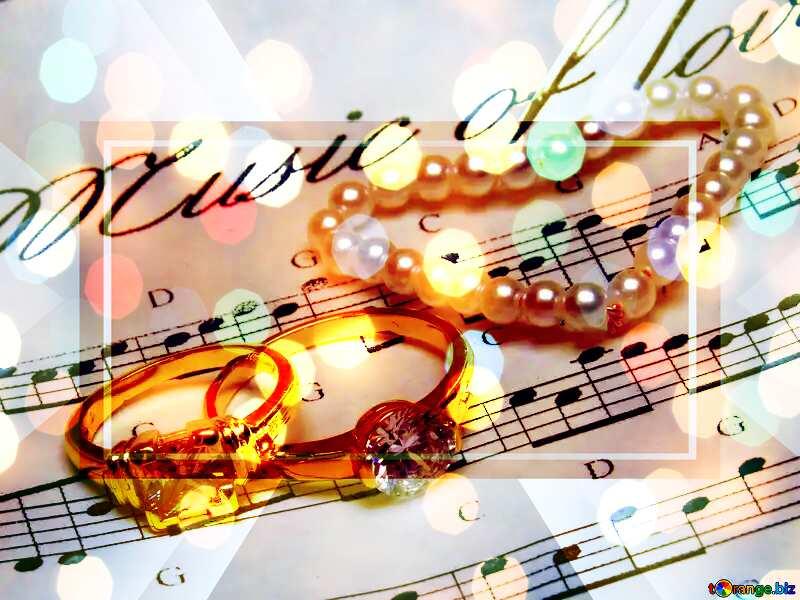 Music for Wedding Wedding music Design Template №18227