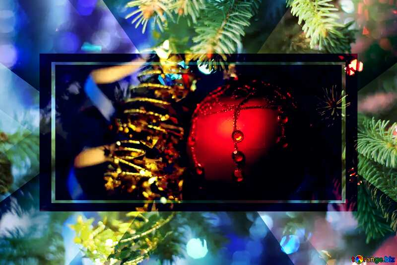 Background for happy new year wishes Template Design №18355