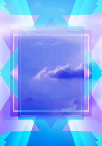 El efecto de la luz. Colores vivos. Bastidor la falta de definición. Fragmento.