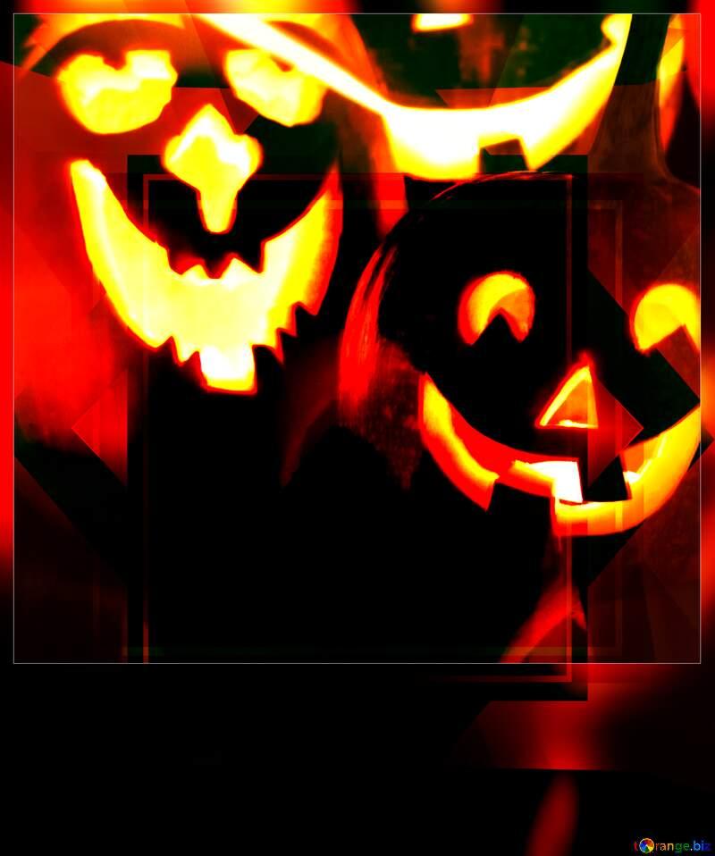 Happy Halloween Blank motivations card №5934