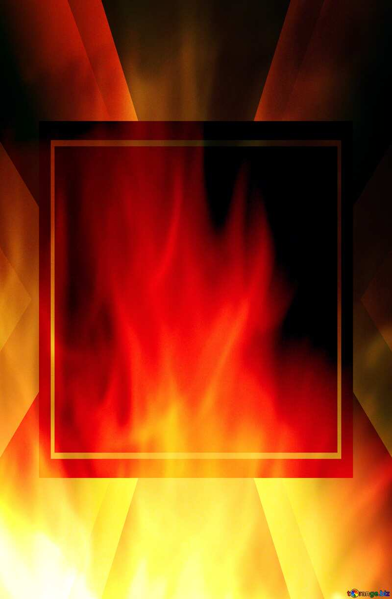 pretty fire background Template №9546