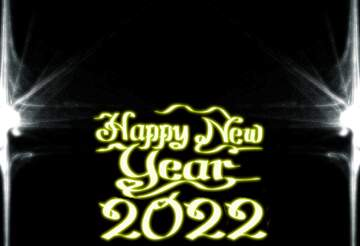 The effect of the dark. Fragment. Template. Happy New Year 2020.