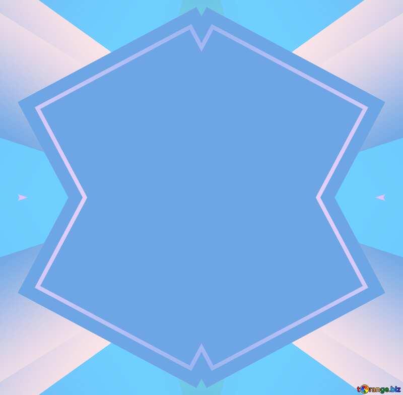Colorful blue light illustration template frame №49675