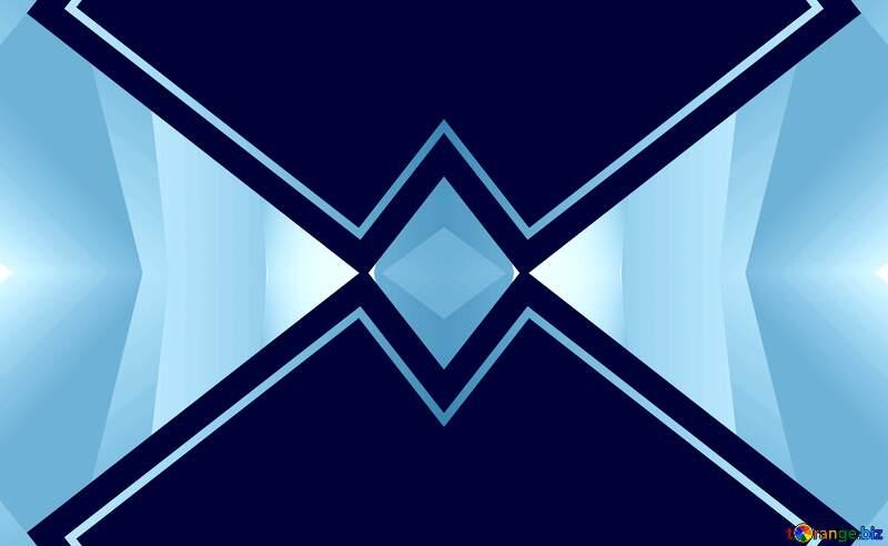 Geometrical  template frame №49675