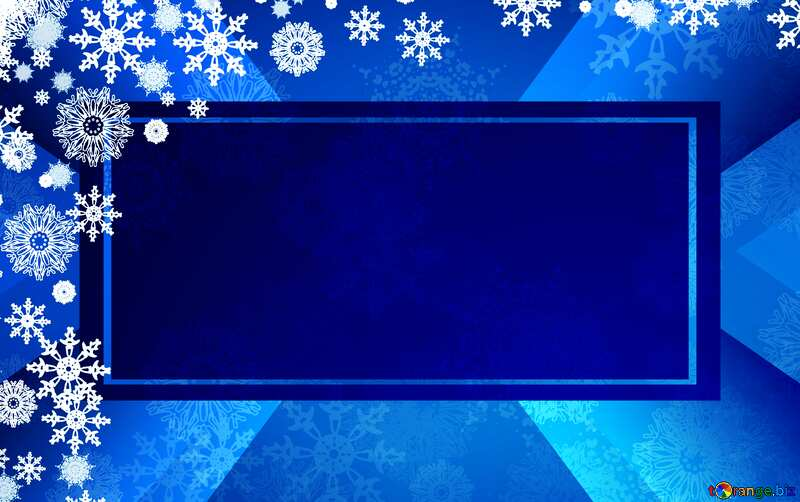 Blue Christmas template banner №40658