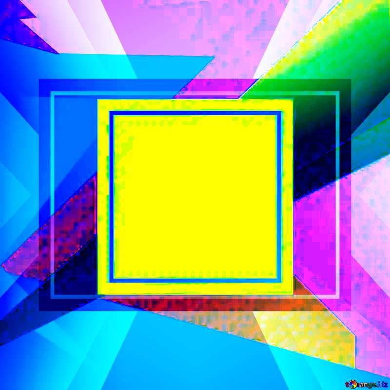 Geometrical Future Trend  template frame banner design №49675
