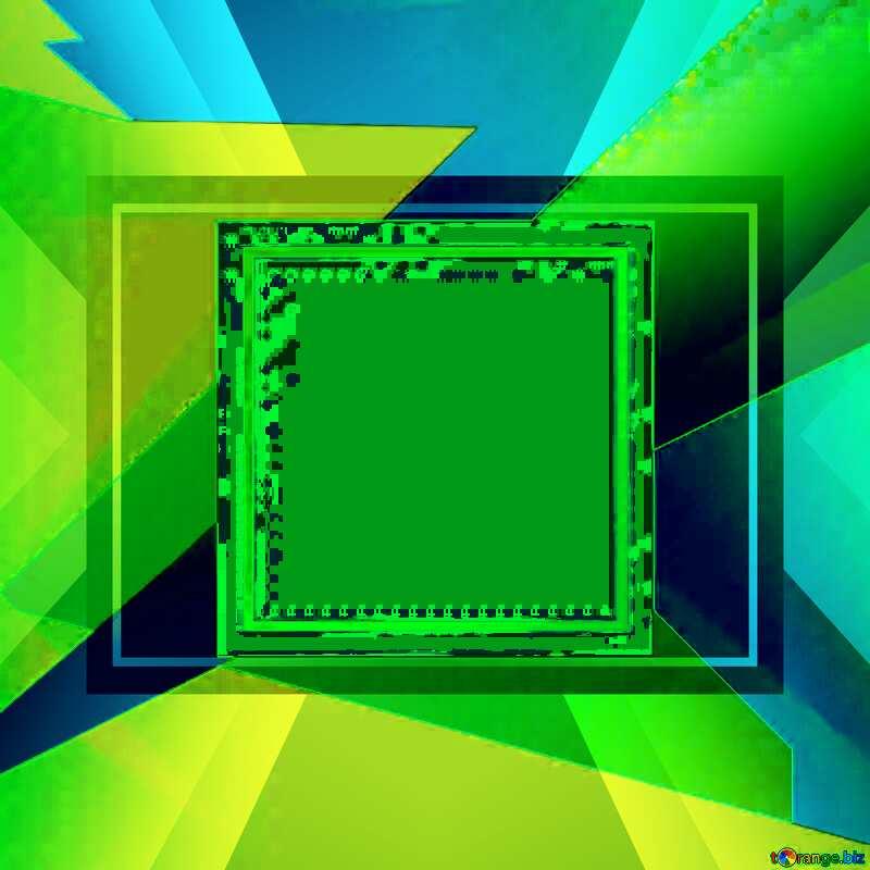 Geometrical Future Trend  template frame website design №49675