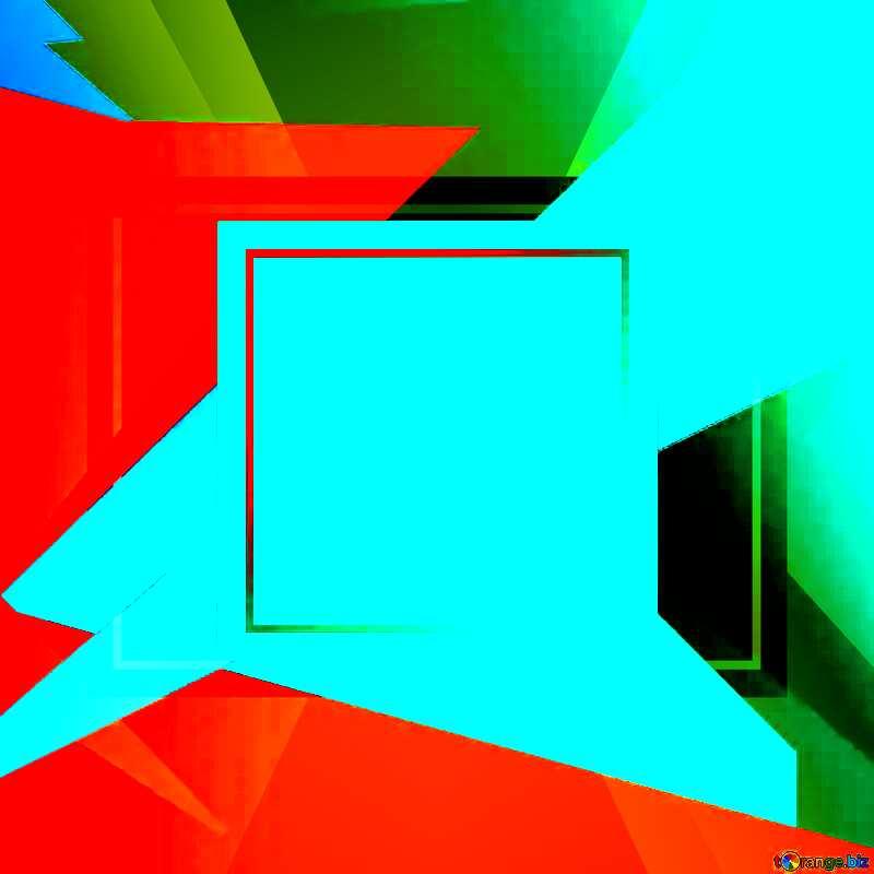 Geometrical Future Trend  template frame template №49675