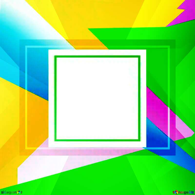 Geometrical Future Trend  template frame №49675