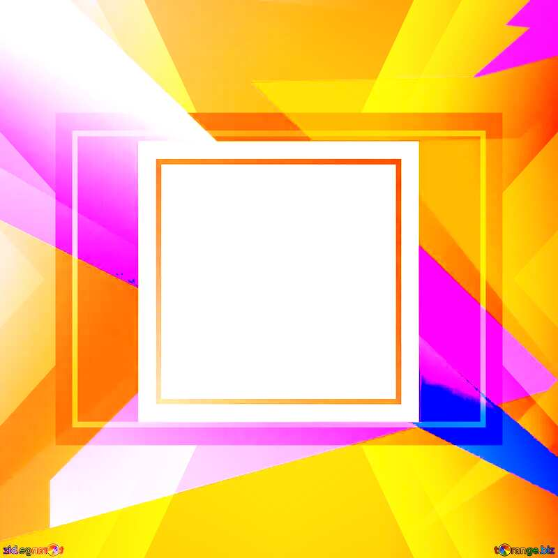 Geometrical Future Trend  template frame Colorful brochure picture №49675