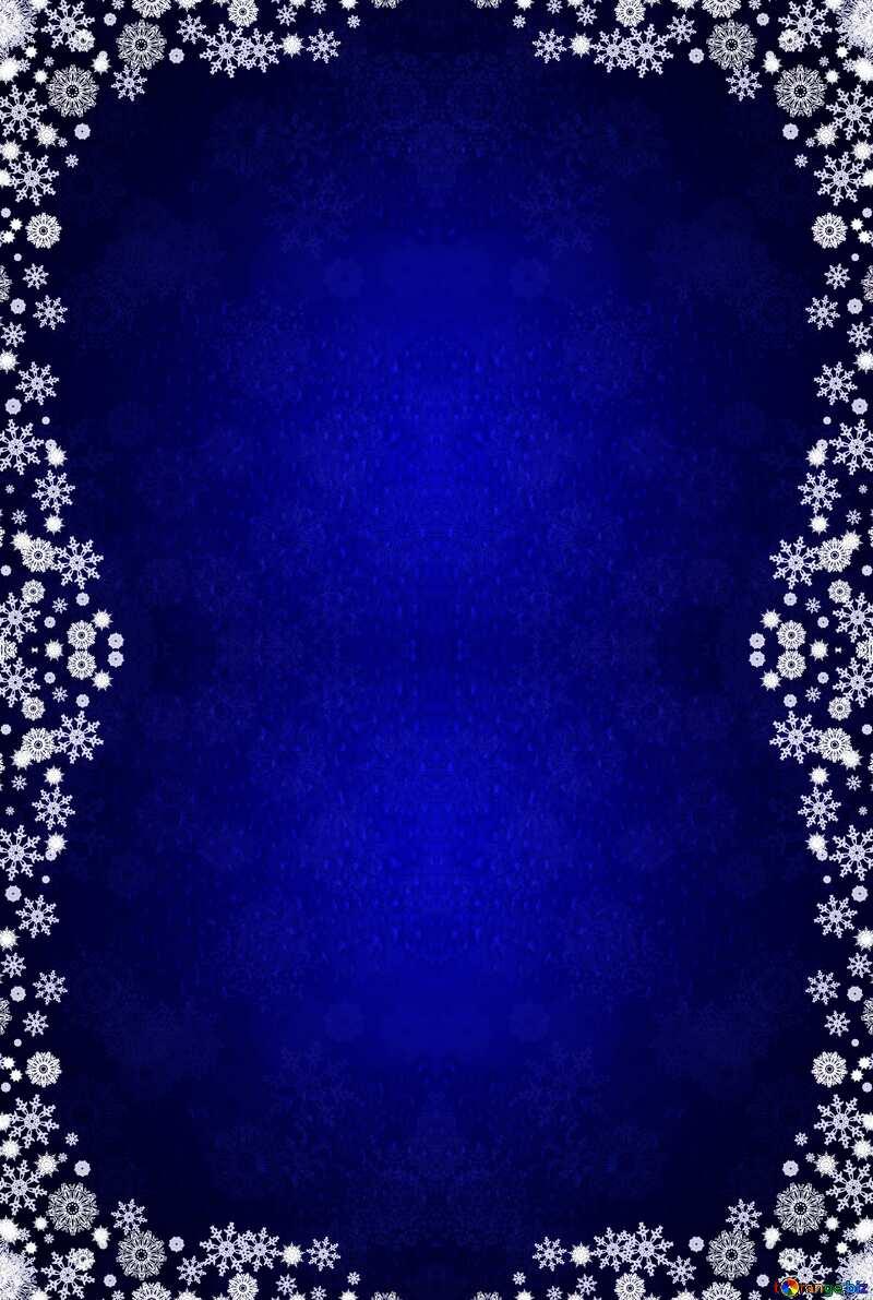 Christmas frame pattern №40659
