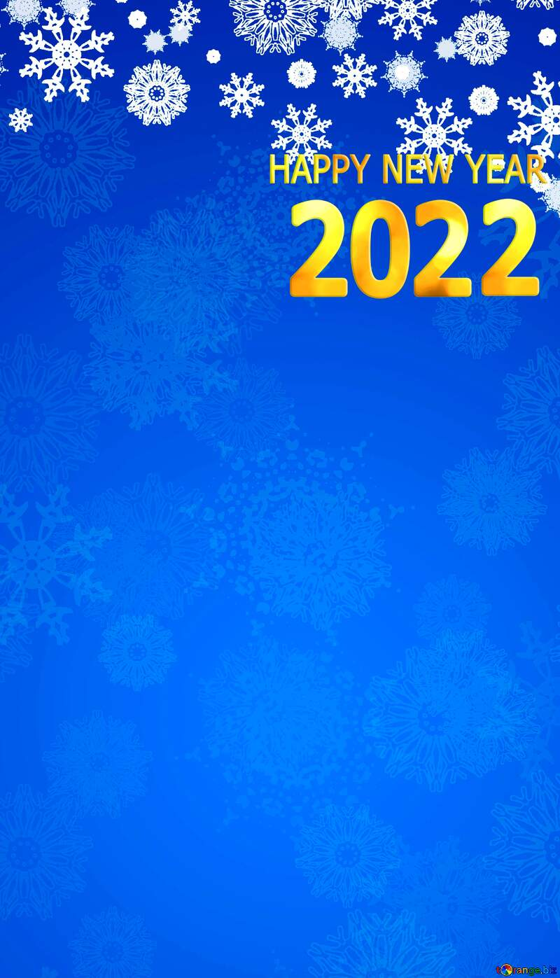 happy new year 2021 Christmas background Blue №40658
