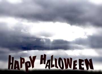 L'effetto della molto luce. telaio sfocatura. Happy halloween.
