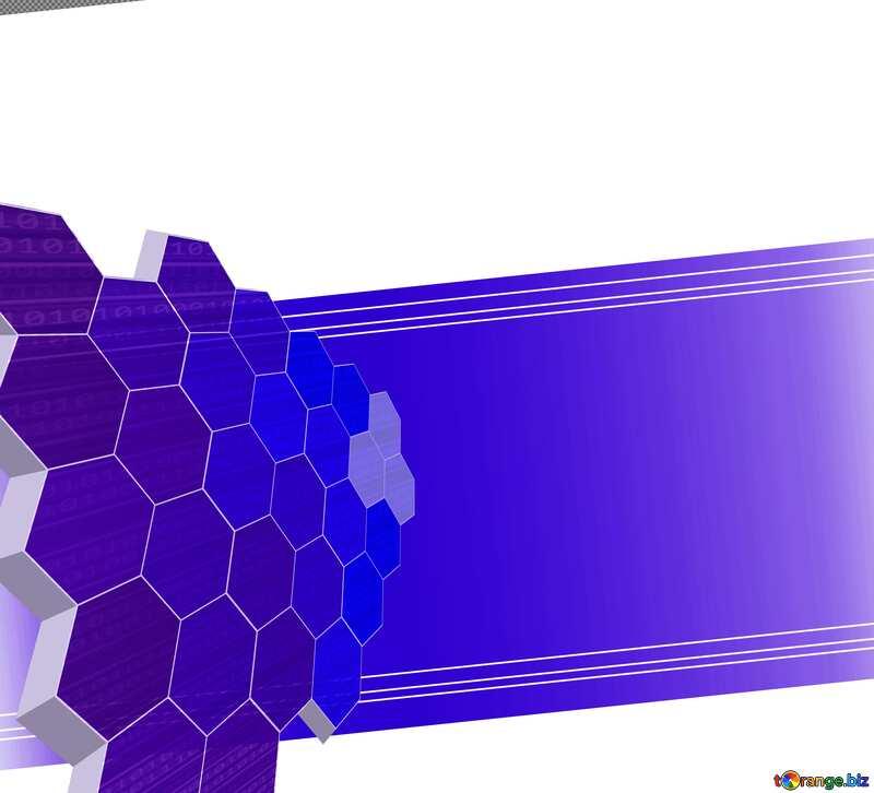 it business technology concept blue №49674