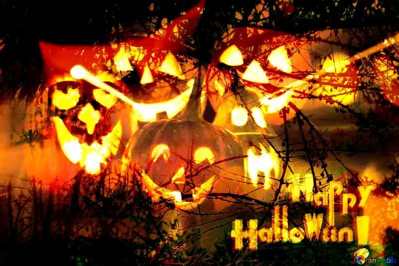 Wallpaper Halloween Spooky forest №5934