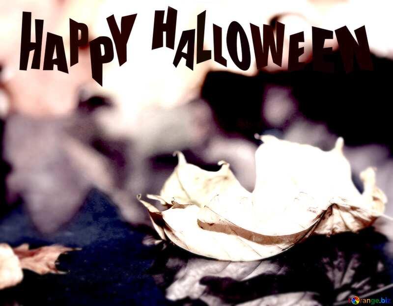 Autumn desktop wallpapers Happy Halloween №34693