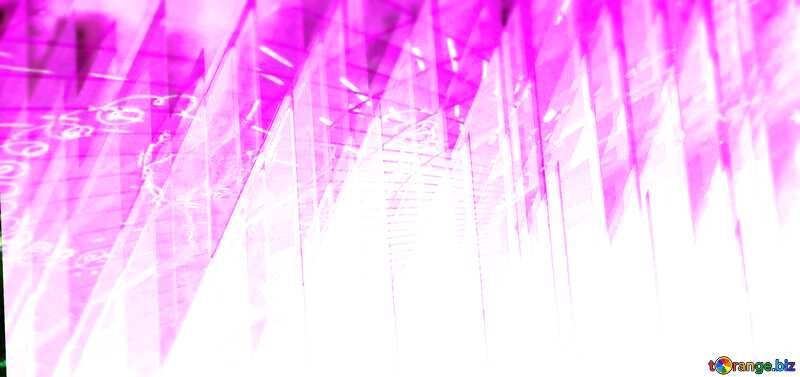 3D Blue Blur Draws laser Technology №51526