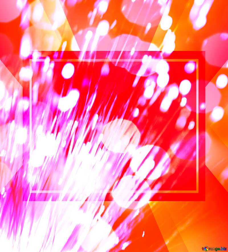 Optical fiber Bokeh business background №41330