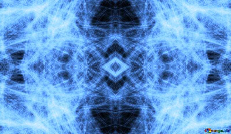chaos pattern blue №40643