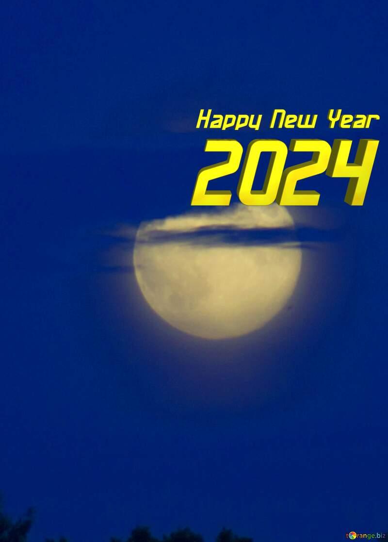 Full moon happy year 2022 №20358