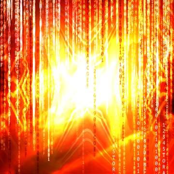 L'effetto della luce. L'effetto di tonalità seppia.