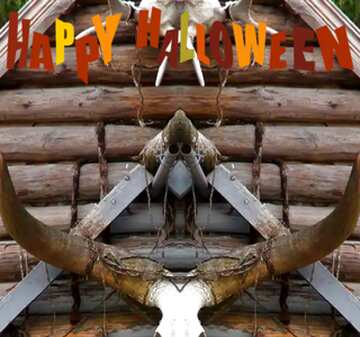 The effect of light. Very Vivid Colours. Fragment. Template. Happy halloween.