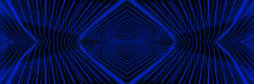 Lights lines curves pattern dark blue