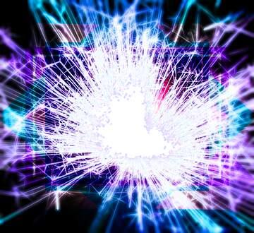 The effect of light. Vivid Colors. Blur frame. Fragment.