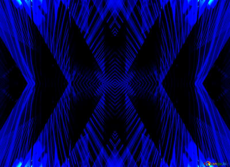 Lights lines curves pattern dark blue Abstract Blue Computer Concept Background №51524