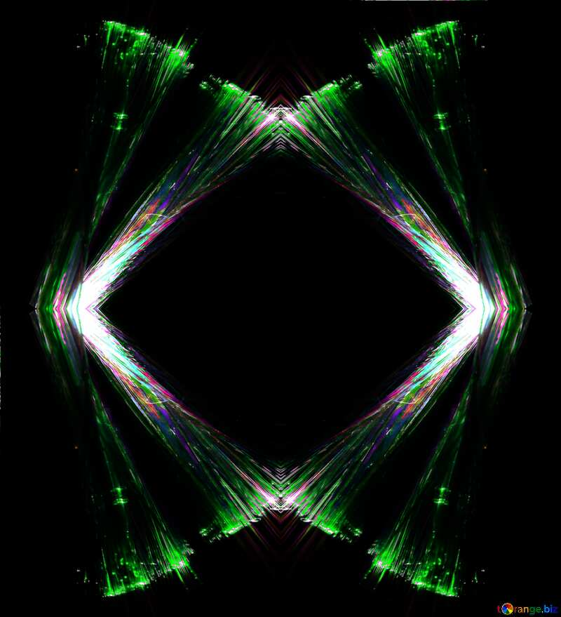 Light frame pattern №25870