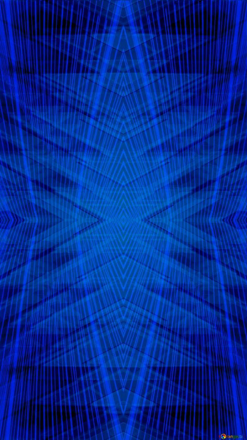 Lights lines curves pattern dark blue Futuristic Geometric Curves №51526