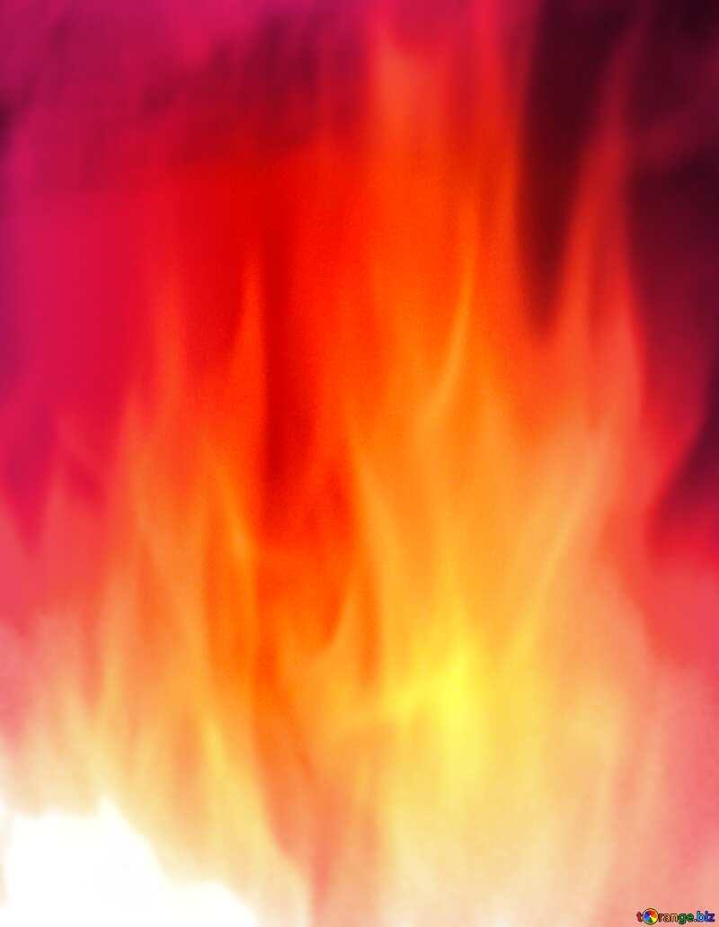 Background. Fire Wall. blur frame №9546