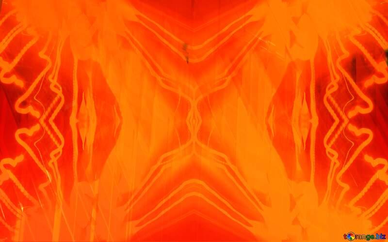 pattern light mosaic Futuristic orange №51526