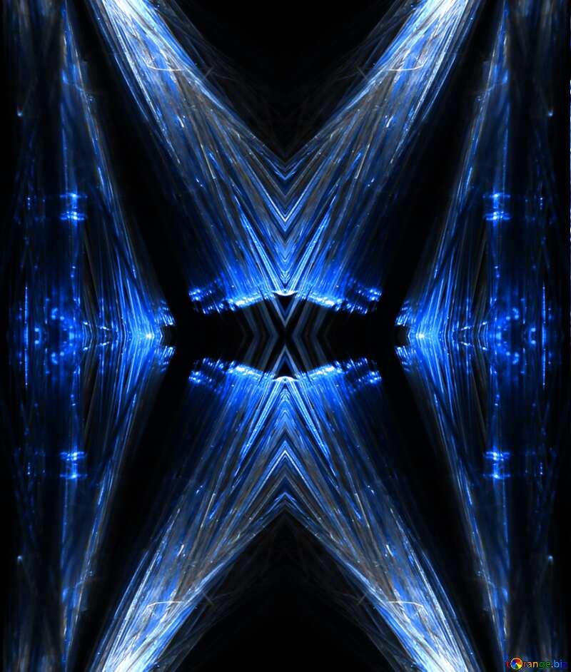 Lights fractal background №25870