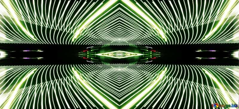 Lights lines curves pattern frame №32076