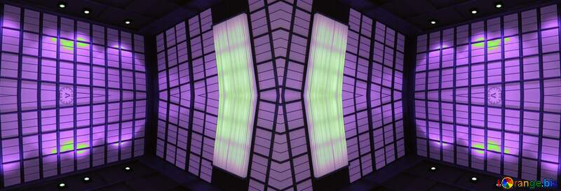 Geometric square backdrop blue №221