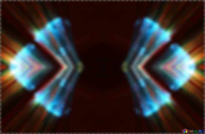 rotation  Lights fractal dark  background №25870